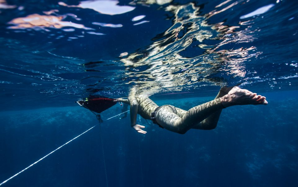 Renee Blundon - American Freediver
