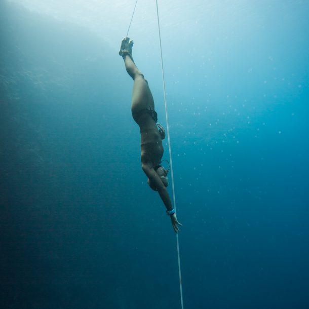 competitive freediver