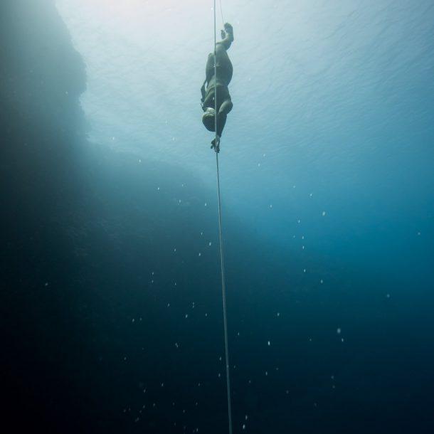 professional freediver