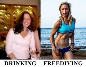 Freediving Before and After